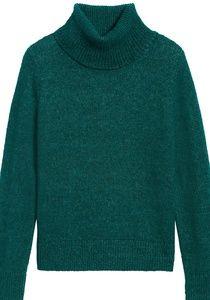BANANA REPUBLIC•Merino-Blend Turtleneck Sweater/S